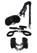 Fetish Fantasy Series Bedroom Bondage (5 Piece Kit) - Black